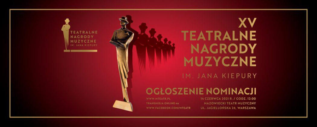 XV teatralne nagrody muzyczne - obrazek wyróżniający